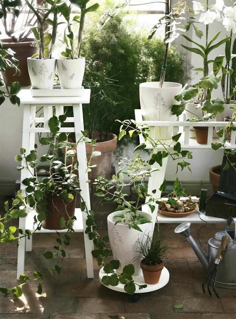 urban gardening in ikea jordan lantliv plant stand. Black Bedroom Furniture Sets. Home Design Ideas