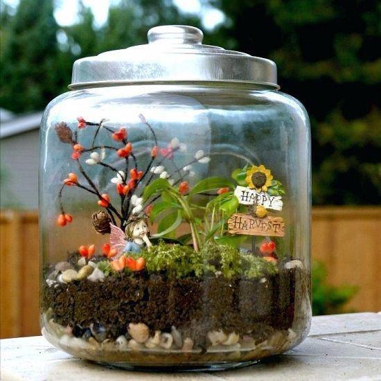 14 Alluring Mason Jar Fairy Garden Ideas You Should LOOK Now! images