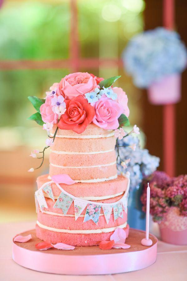 Little Miss Dainty Birthdays And Babies - Little miss birthday cake