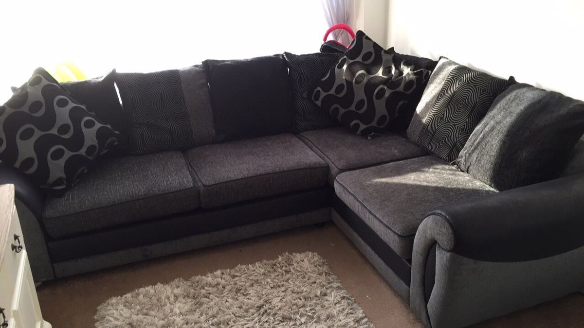 Dfs Corner Sofa Black Friday In 2020 Dfs Corner Sofa Sofa Black And Grey Corner Sofa