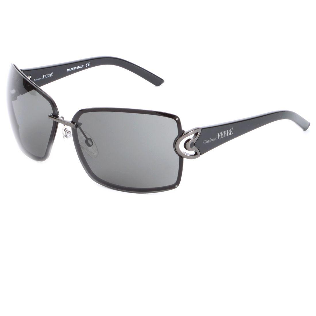 207e26f3d1de6 Gianfranco Ferre GF 949 01 Sunglasses - Gun Black - My collection from top   designers
