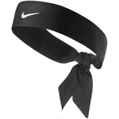 New Womens Nike Head Tie Dri Fit black Headband Tennis Run Basketball  Skylar 1.0