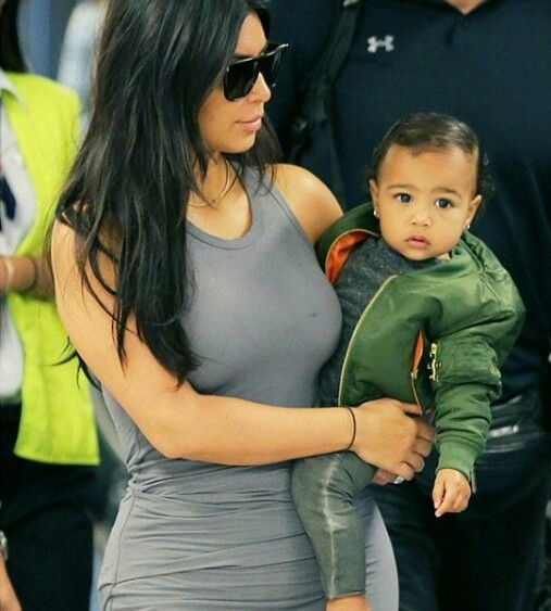 This 2 are too much kim kardashian west and north west