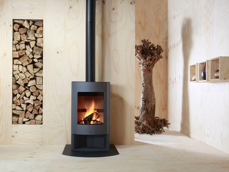 Faber Cheminée Modern Gas Fireplace (with Images) | Freestanding