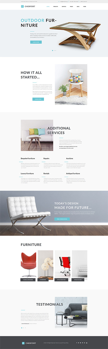 Outdoor Furniture Company #Wordpress #template. #themes #business  #responsive #Wordpressthemes