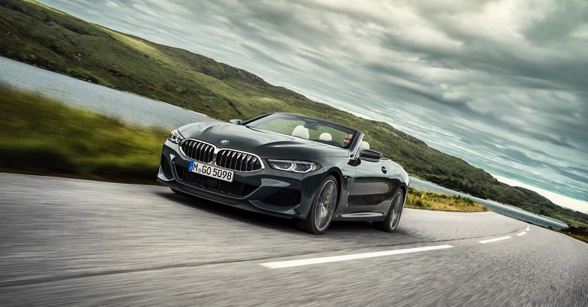 Bmw S 8 Series Convertible Packs A Twin Turbo V8 Display Screens