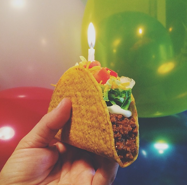 taco bell birthday Taco Bell and Chobani Claim Early Success With Instagram Ads  taco bell birthday