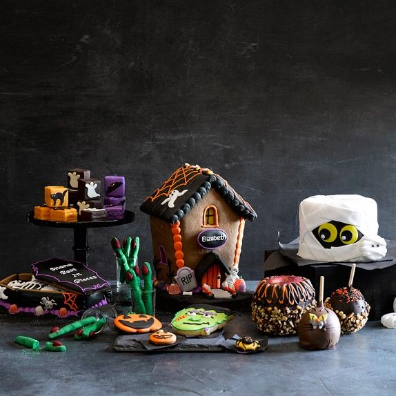 Halloween Gingerbread House From Williams Sonoma