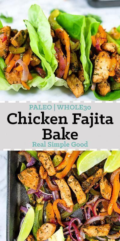 Sheet Pan Chicken Fajita Bake (Paleo + Whole30)