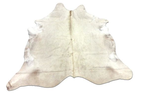 New Brazilian Natural Pure White Cowhide Rug G195 By Cowhidesusa 479 00 White Cowhide Rug Cow Hide Rug Pure Products