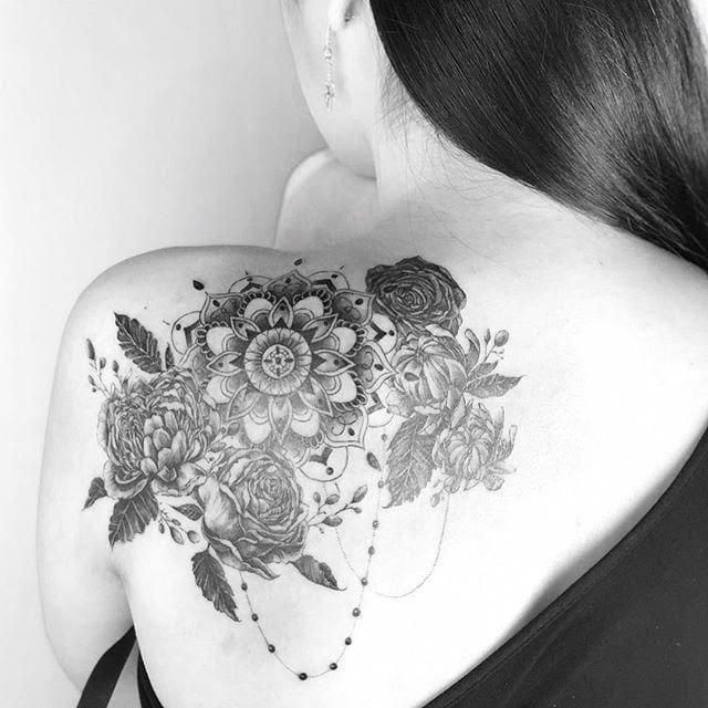 low back tattoo