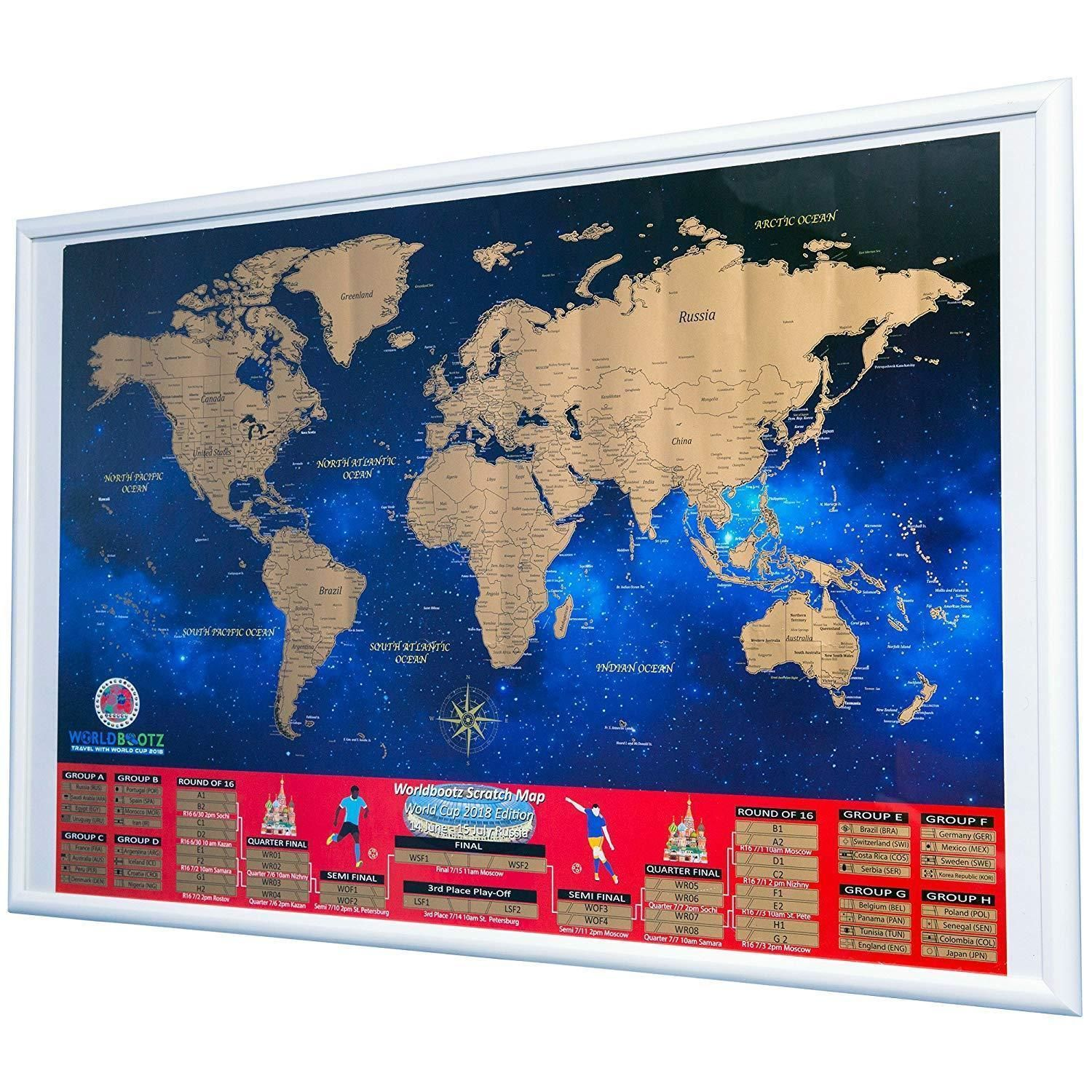 World cup 2018 scratch off map brackets poster soccer wall chart world cup 2018 scratch off map brackets poster soccer wall chart russia discount price 3000 free gumiabroncs Choice Image