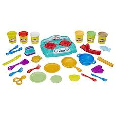 Play Doh Kitchen Creations Stovetop Super Set Vetetoe Boys