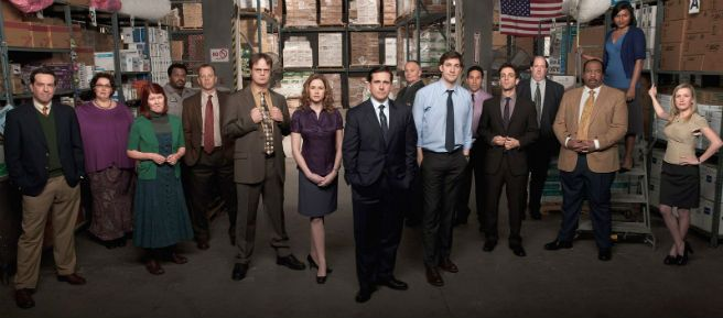 Last season for The Office and Alex P. Keaton is coming back.
