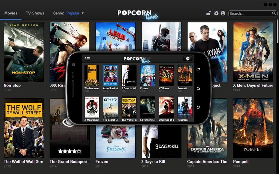Popcorn Time - Shows de TV y películas gratuitas para tu ...