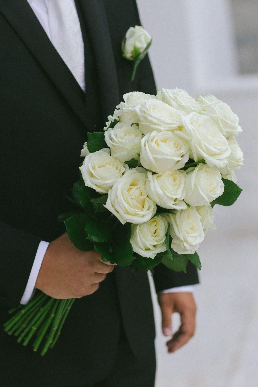 Wedding bouquets without roses  Athens Wedding from White Ribbon Boutique Events  George Pahountis