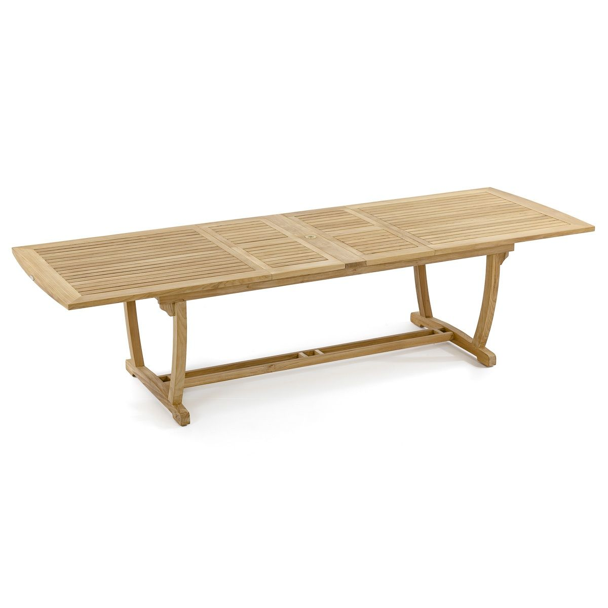Veranda Rectangular Teak Extension Dining Table Westminster Teak