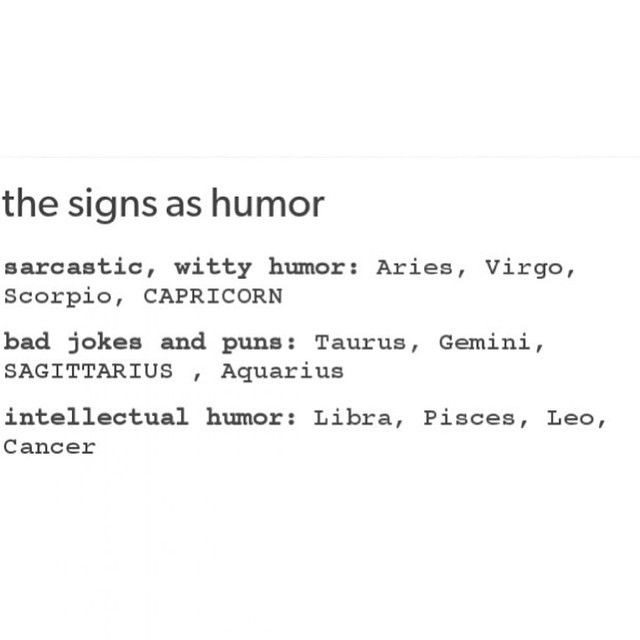 Horoscope Humor: Im Going To Die From Being Sarcastic At The Wrong Time