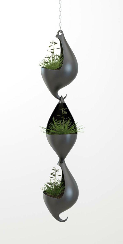 Pflanzgefäße Designer Ideen Kübelpflanzen Kette | Pots De Fleurs ... Pflanzgefase Im Garten Ideen Gestaltung