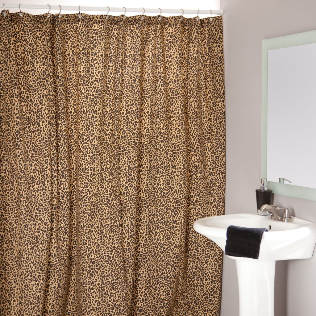 Cheetah shower curtain - Cheetah Shower Curtains