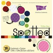 ConsumerCrafts Product Core'dinations Spotted™ Tillie Dot 12 x 12 Paper Pack