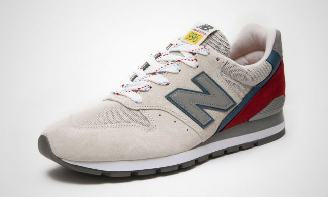 innovative design 99953 e83f5 New Balance M996PD Beige / Red | Kicks | New balance ...