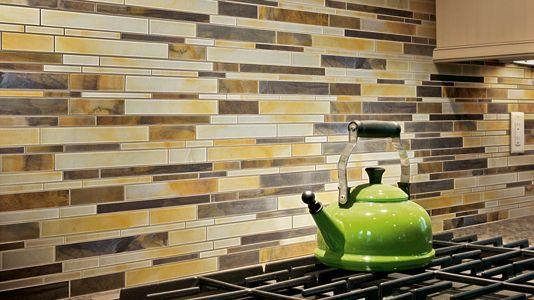 Super-duper fantabulous backsplash! Ceramic  Porcelain Tile