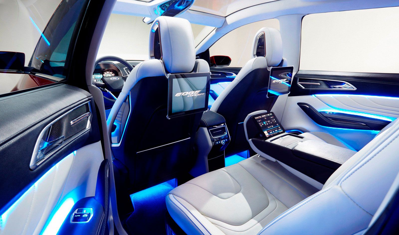 Ford edge 2015 advanced technology concept
