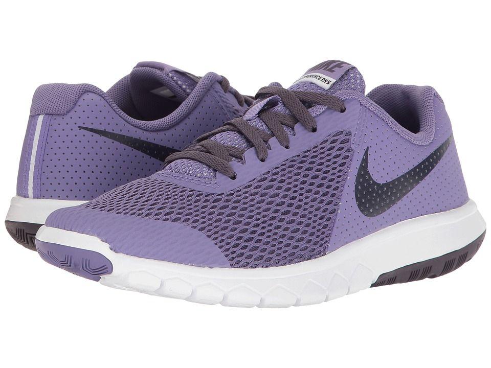 new arrival dddf9 b16b5 Nike Kids Flex Experience 5 (Big Kid) Girls Shoes Purple Earth Dark  Raisin White