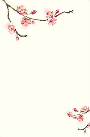 cherry blossom invitations template xMdEAelF | sgasga | Pinterest ...