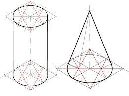 Como Realizar Circulo A Elipse En Perspectiva Axonometrica Geometria Descritiva Circulos Geometria