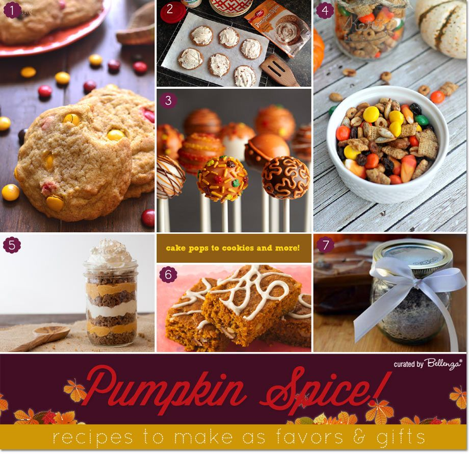 Rustic Fall Wedding Favor Ideas: Pumpkin Spice Goodies To Make As Fall Favors And Gifts
