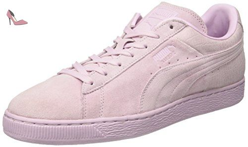 Suede Classic Casual Emboss, Sneakers Basses Mixte Adulte, Violet (Lilac Snow), 46 EUPuma