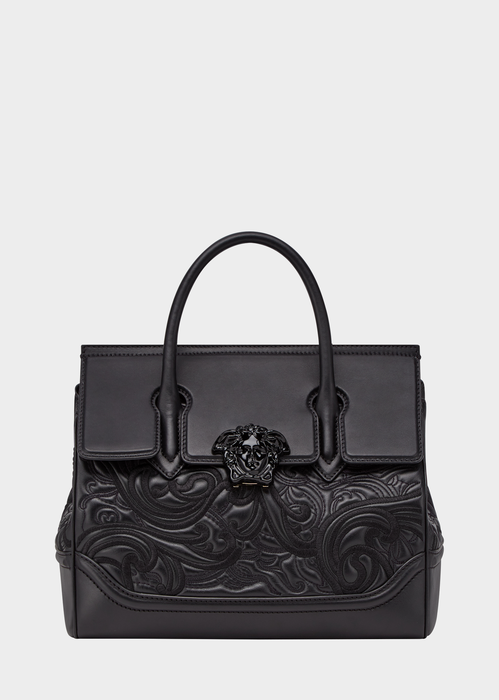 989f9033ce9d3 Versace Embroidered Palazzo Empire Bag for Women