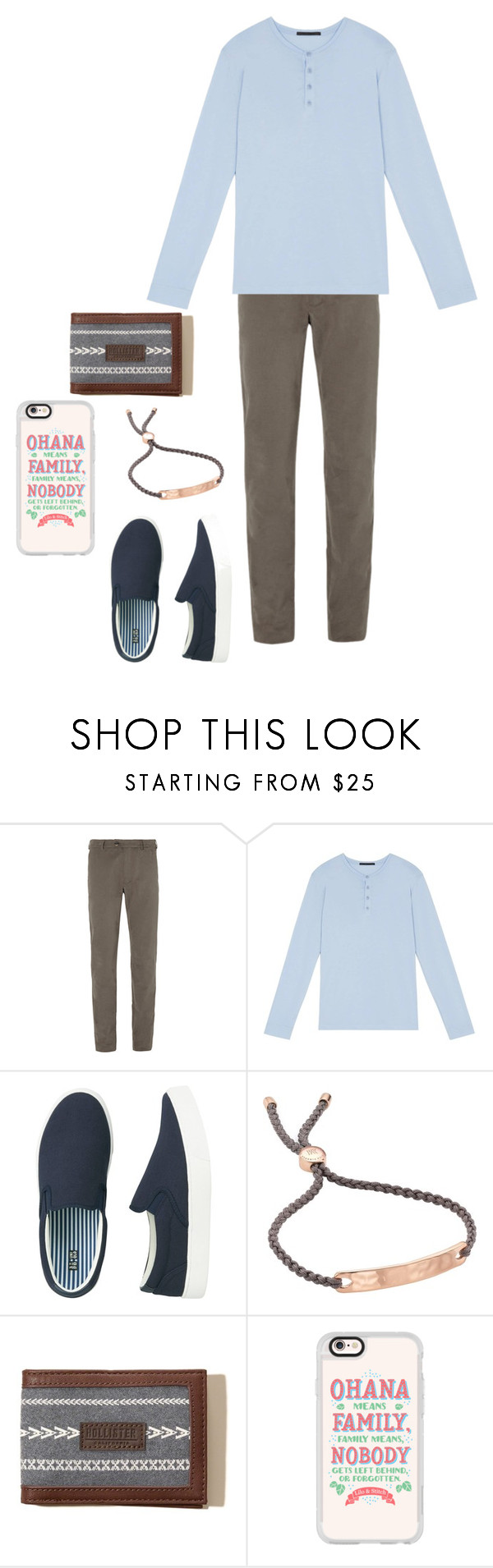 """Little"" by racheljohnson1226 ❤ liked on Polyvore featuring Private White V.C., The Founder, Uniqlo, Monica Vinader, Hollister Co., Casetify, men's fashion and menswear"