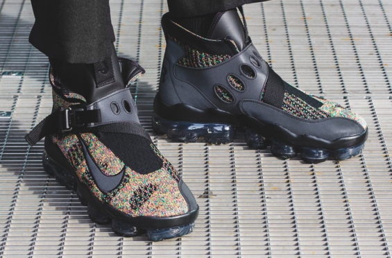 77aae8b020a2 Nike Air VaporMax Premier Flyknit Black Multicolor Arriving Overseas The  brand new Nike Air VaporMax Premier