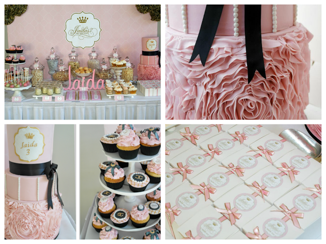 Little Big Company | The Blog: A Gold and Pink Princess Themed Birthday by Beautique Events