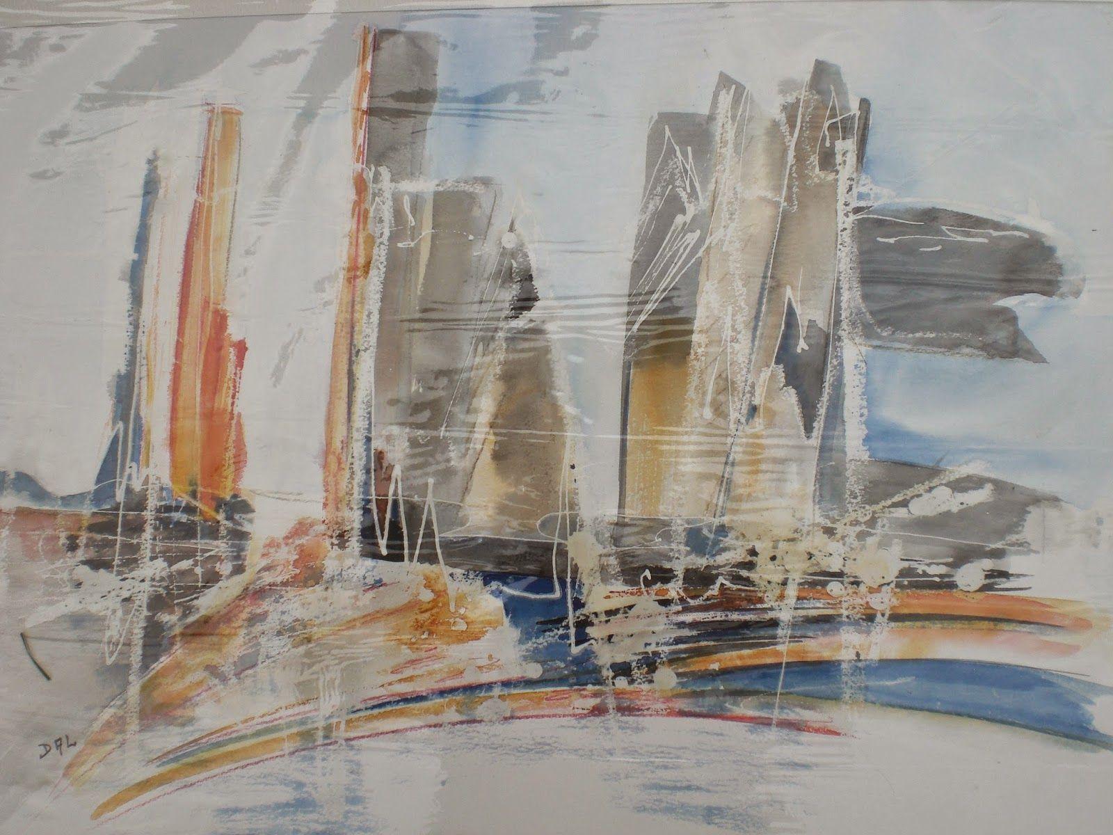 4 - Aquarelles abstraites | Aquarelle abstraite, Peinture abstraite, Aquarelle