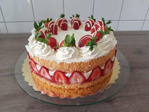 Leckere Erdbeer Torte ♥ P&S Backparadies