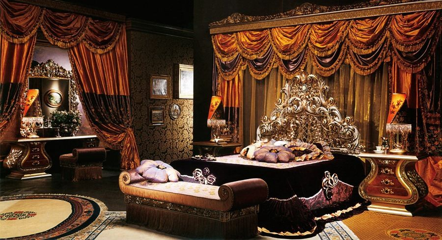 Bedroom Sets Luxury european style luxury imperial wood carved bedroom set top quality