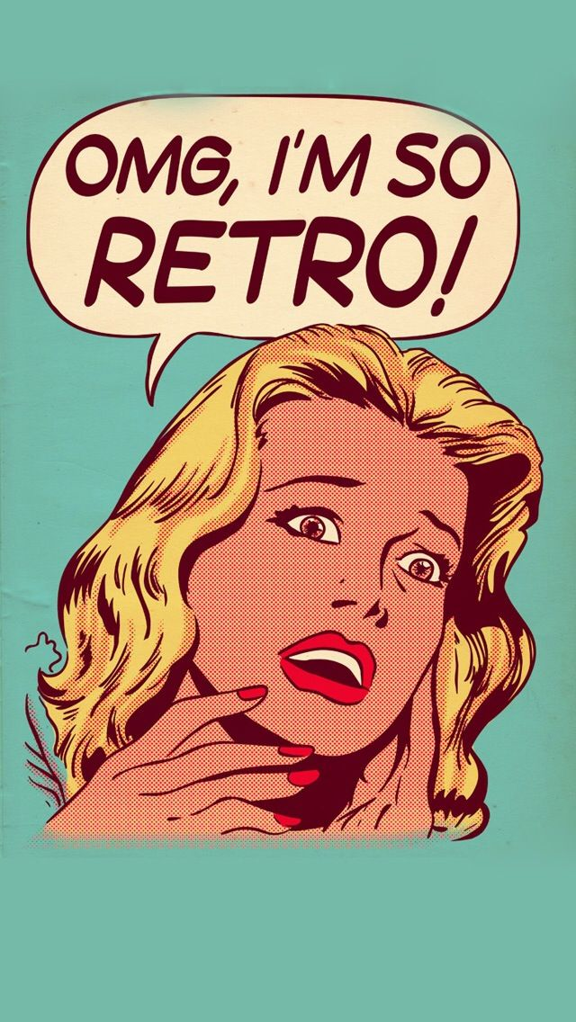 OMG, I'M SO RETRO, IPHONE WALLPAPER BACKGROUND | IPHONE WALLPAPER / BACKGROUNDS | Retro ...
