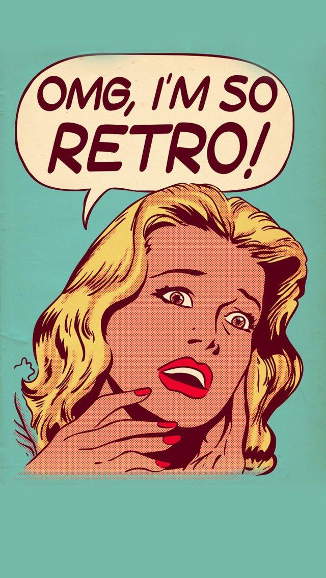 OMG, I'M SO RETRO, IPHONE WALLPAPER BACKGROUND | IPHONE WALLPAPER / BACKGROUNDS | Iphone ...