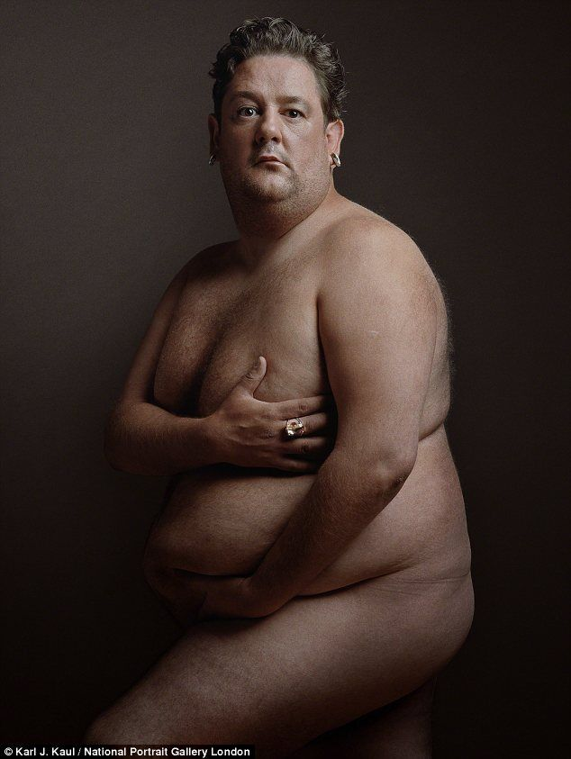 And stitc pregnant man nude