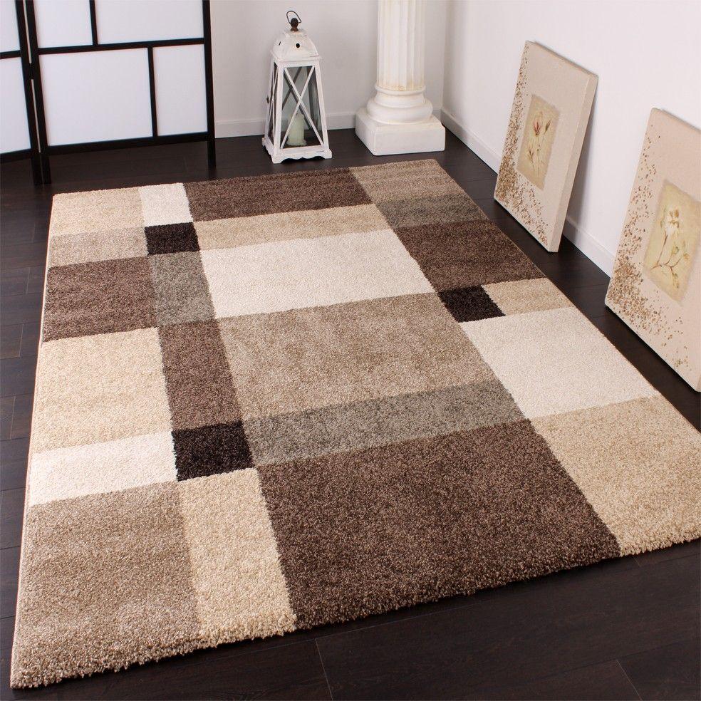 impressionnant tapis salon beige marron