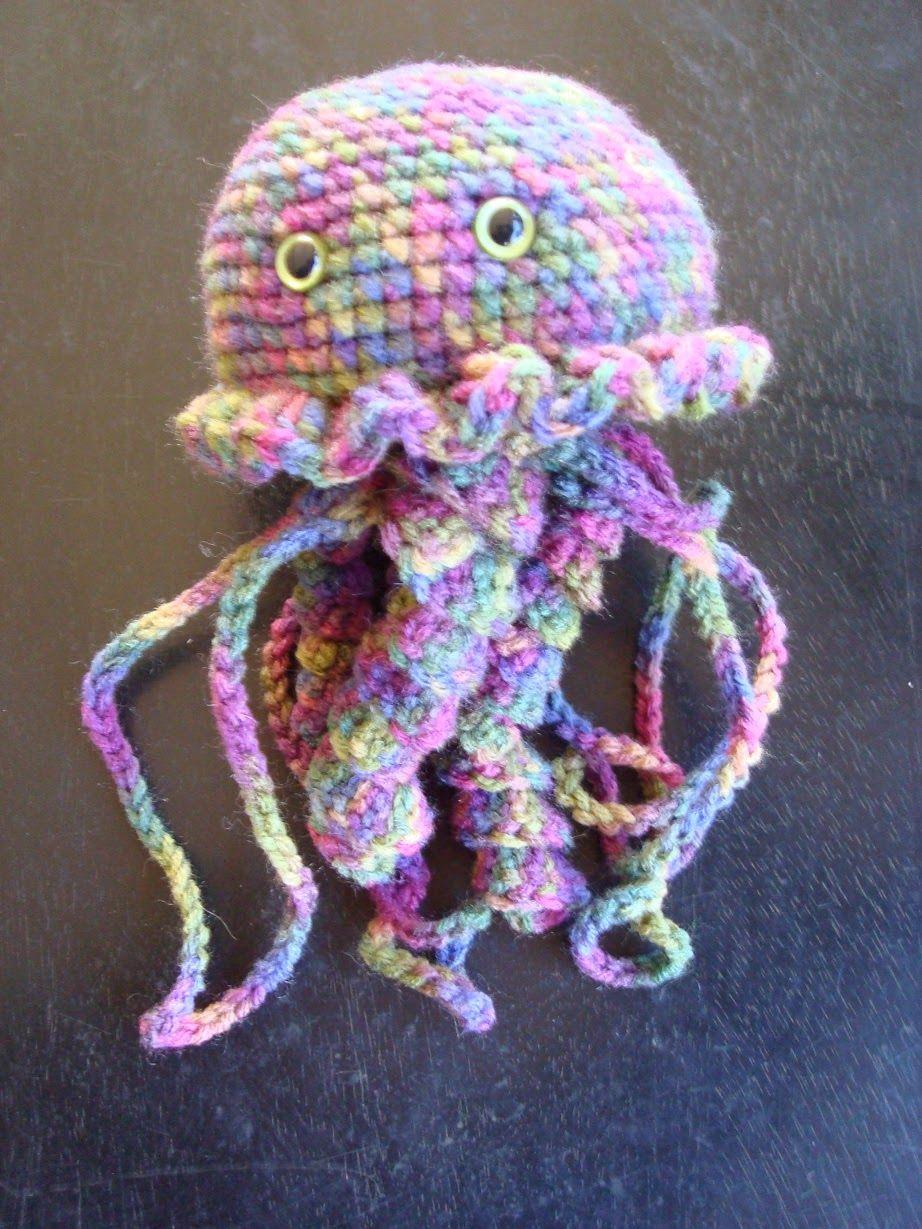 Free Jellyfish Pattern Web Patterns Giveaways Crochet Crochet