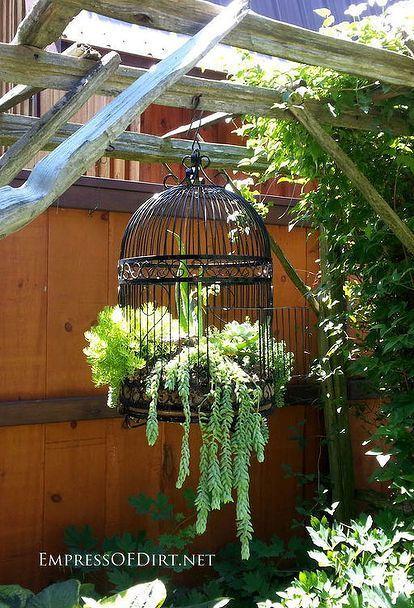 Kreative und ungewöhnliche Behälter für den Garten | Idées ...