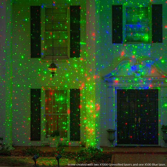 Laser Christmas Lights.Green Red X1000 Laser Christmas Light Projector Moving