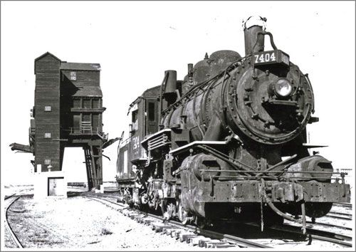 Engine and Coal Dock. Canada Railway museum, Steam