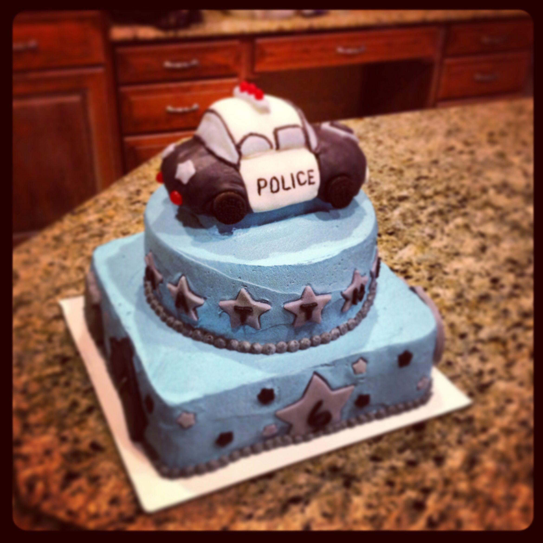 Yummy Police Cake
