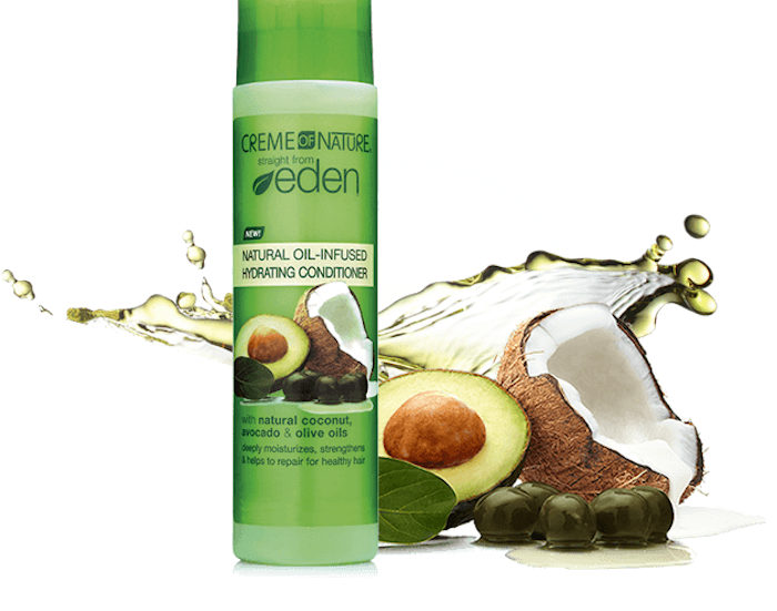 Crème of Nature Staright from Eden Natural OilInfused